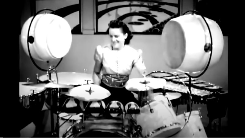 Murió a los 107 años Viola Smith, la baterista más longeva de la historia de la música