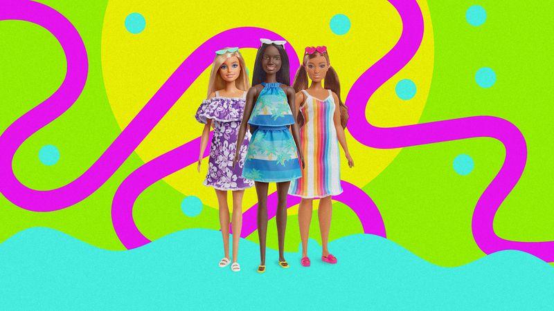 Mattel lanzó una línea de Barbies sustentables hechas con plástico reciclado