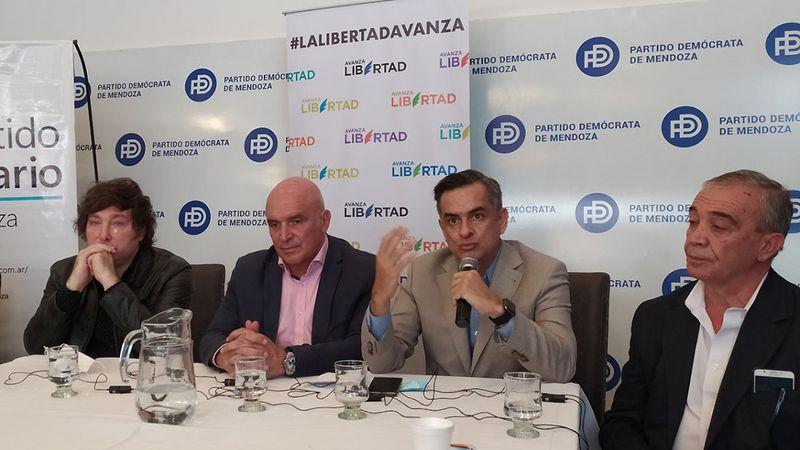 El PD abrirá su boleta a candidatos liberales de Espert y del Mendoexit