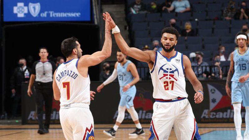 NBA: volvió a jugar Campazzo, brilló y los Nuggets sumaron el quinto triunfo