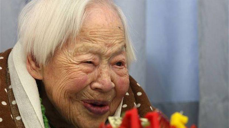 La persona más anciana del mundo celebra su cumpleaños 117