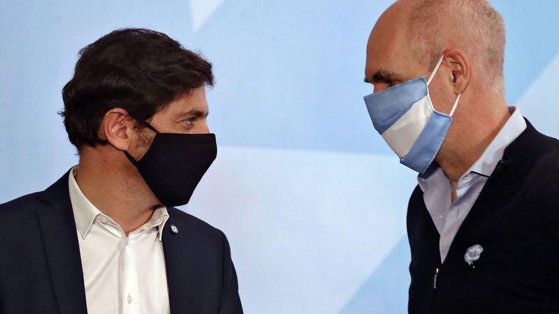 Rodríguez Larreta y Kicillof se juntaron para concretar la reapertura en el AMBA