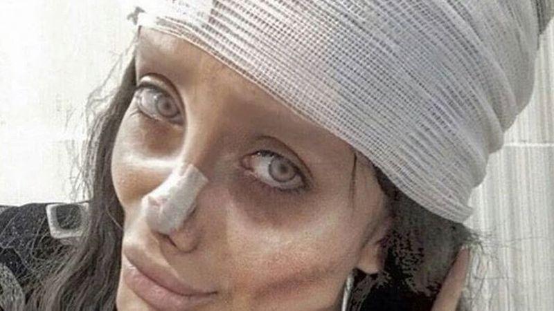 """Detuvieron a la """"Angelina Jolie iraní"""" acusada de blasfemia en Instagram"""