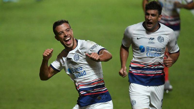 Video: con un gol del mendocino Franco Di Santo, San Lorenzo venció a Central en un final con incidentes