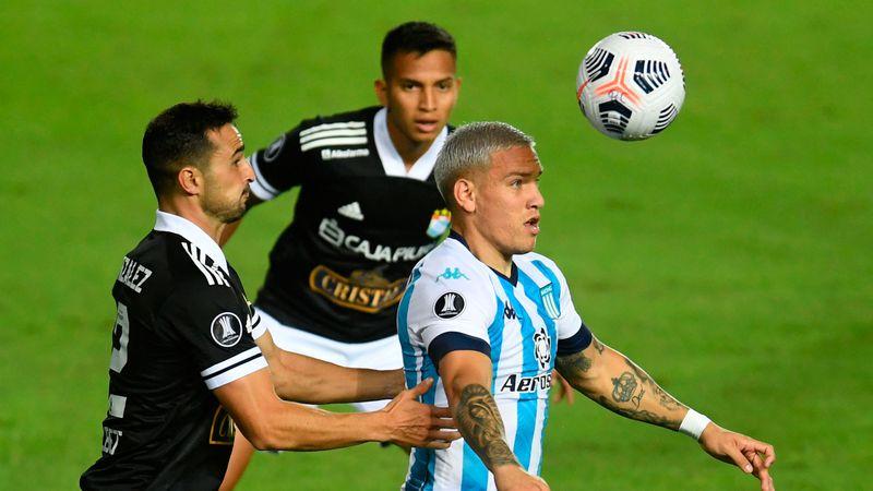 Racing enfrenta a Sporting Cristal en Perú por la Libertadores: hora, TV, formaciones y más