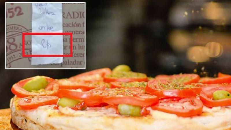 Entendió mal el ticket de la pizza y denunció homofobia: qué le respondió la pizzería