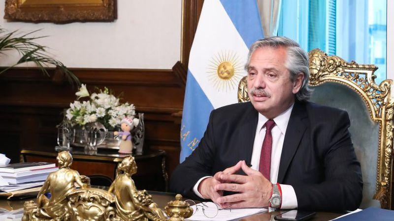 El presidente Alberto Fernandez participa hoy y mañana de la Cumbre del G20 que se realiza en forma virtual