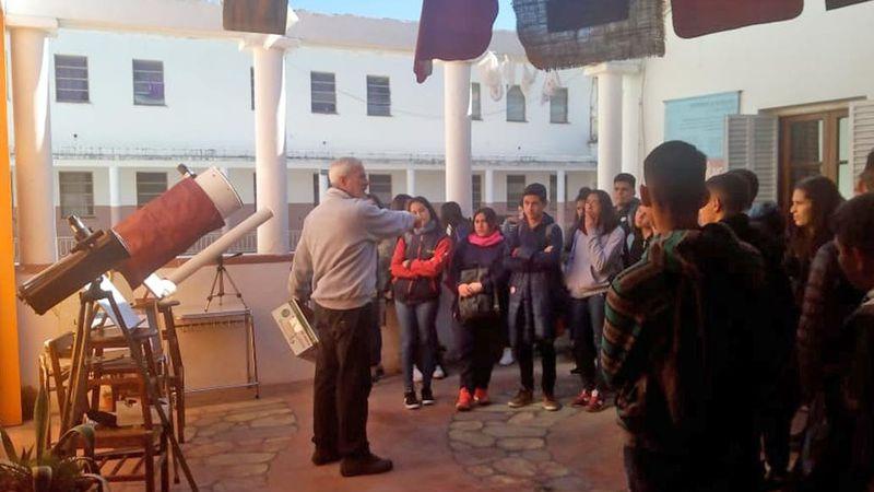 Un sensor permitirá que los ciegos perciban el eclipse solar en Córdoba