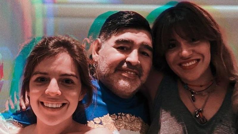 Mientras Matías Morla defendía a las hermanas de Maradona, Gianinna mostraba una insólita foto para desmentirlo