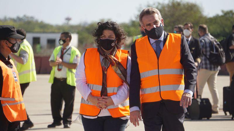 Rossi aseguró que los militares colaborarán en tareas sanitarias, no participarán en seguridad interior y tampoco portarán armas