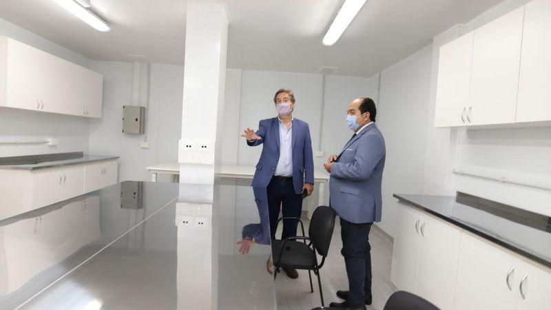 "Emir Félix le contestó a la ministra Nadal por el centro modular en San Rafael: ""Está mal informada"""