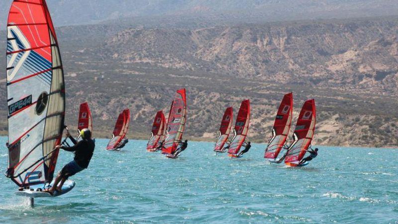 A Potrerillos, por la octava del ranking mendocino de windsurf