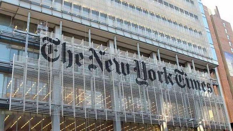 El diario The New York Times denuncia que el Gobierno de EEUU se apropió de mails de sus periodistas