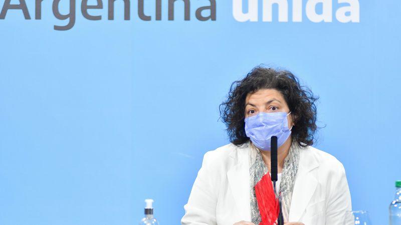 Carla Vizzotti aseguró que evalúan la posibilidad de establecer una norma para quienes no quieren vacunarse