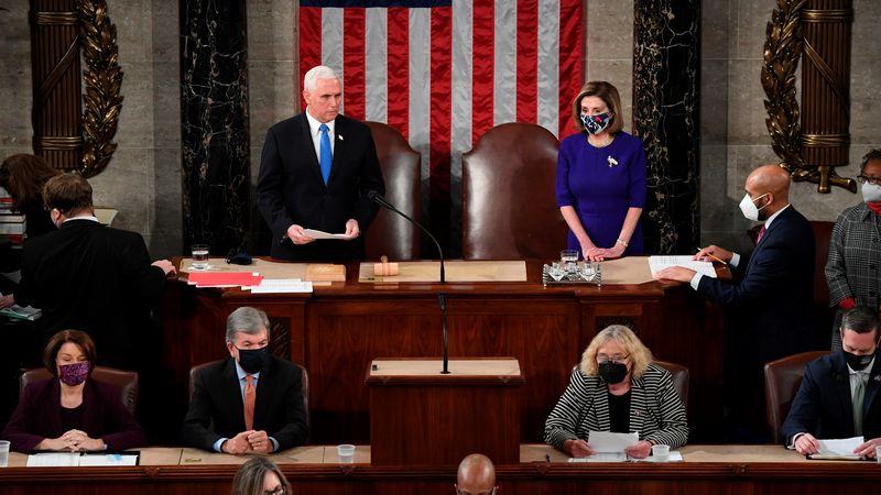 El vicepresidente de EEUU dice que no detendrá la certificación de la victoria de Biden a pesar de las presiones de Trump