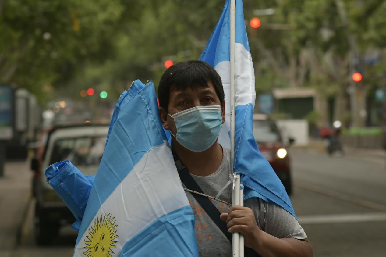 Banderazo #8N en Mendoza -