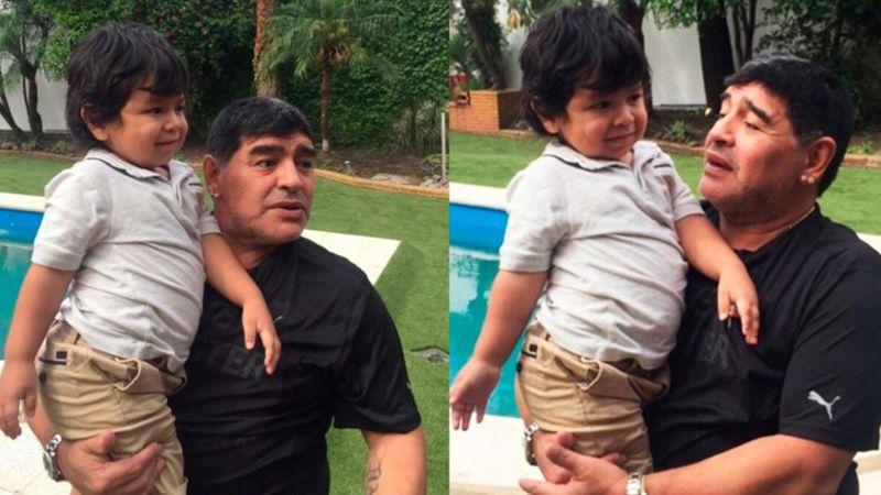 Tras la marcha por Diego Maradona, Instagram bloqueó la cuenta de Dieguito Fernando