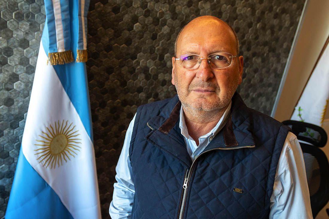 Intendente de Guaymallén Marcelino Iglesias.