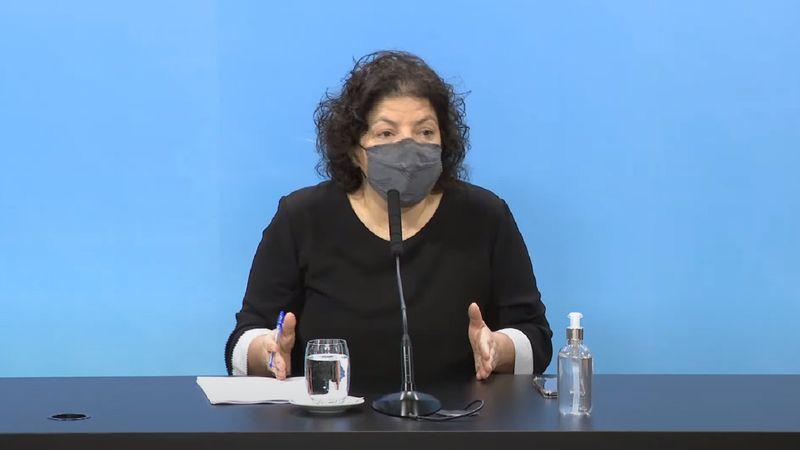 """Carla Vizzotti habló sobre la compra de los penes de madera y """"agradeció"""" la difusión"""