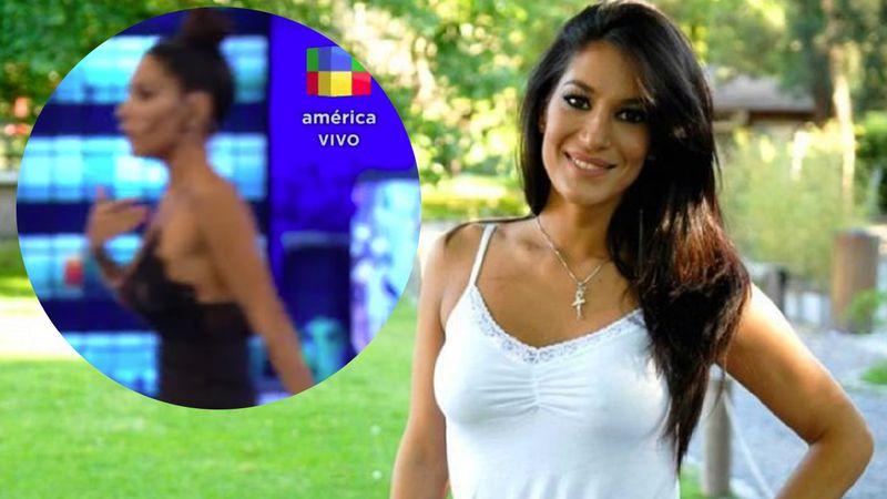 """Video: Silvina Escudero bailó un tema de Shakira, se descompensó y se fue en vivo de """"Los mammones"""""""