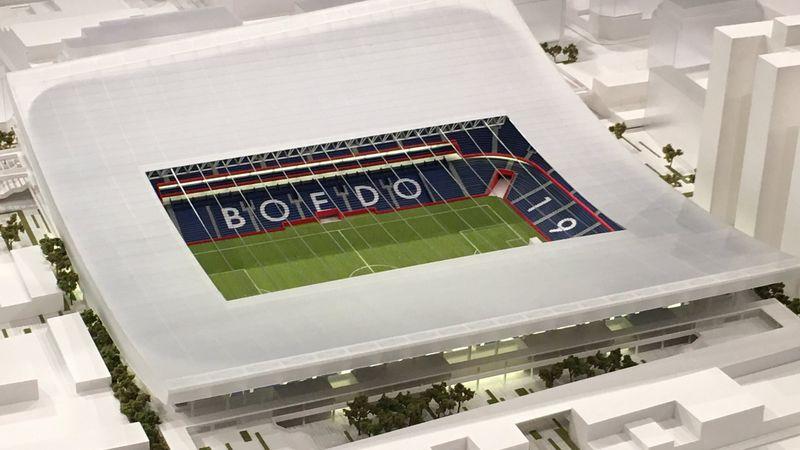 La ilusión que los condena: San Lorenzo presentó la maqueta de su estadio en Boedo