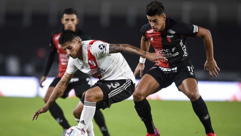 Video: con un golazo del mendocino Fabrizio Angileri de tiro libre, River derrotó  a Colón de Santa Fe por 3-2