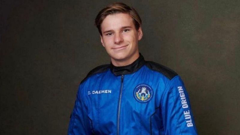 ¿Quién es Oliver Daemen, el joven de 18 años que voló al espacio con Jeff Bezos, y cuántos millones pagó?