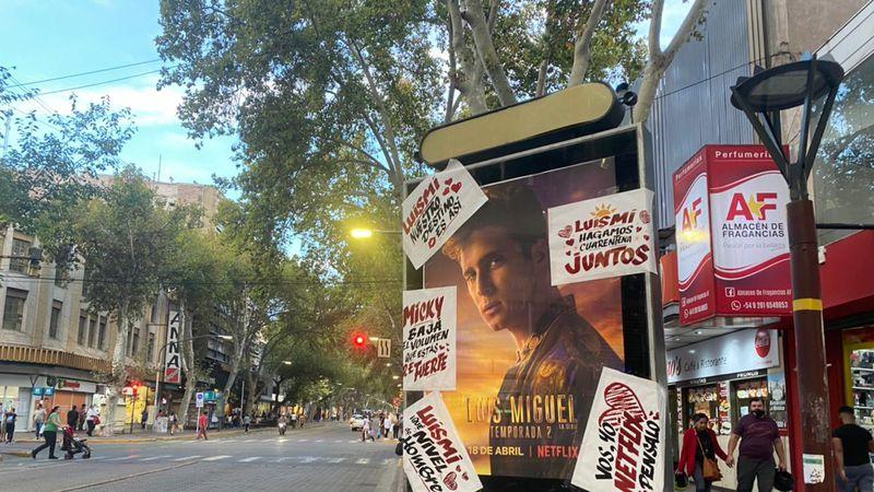 Luis Miguel, la serie 2: los afiches que invadieron las calles de Mendoza y profesaron amor por el artista