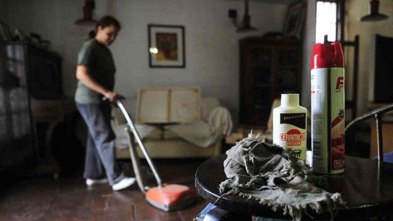 Aumentan los aportes para el servicio doméstico