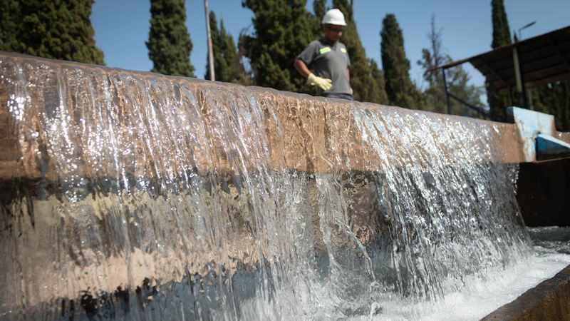 Aysam prevé cortes de agua durante la madrugada por la crítica situación del abastecimiento