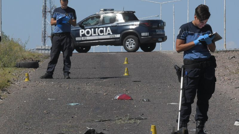 Un conductor muerto tras un choque frontal en San Rafael