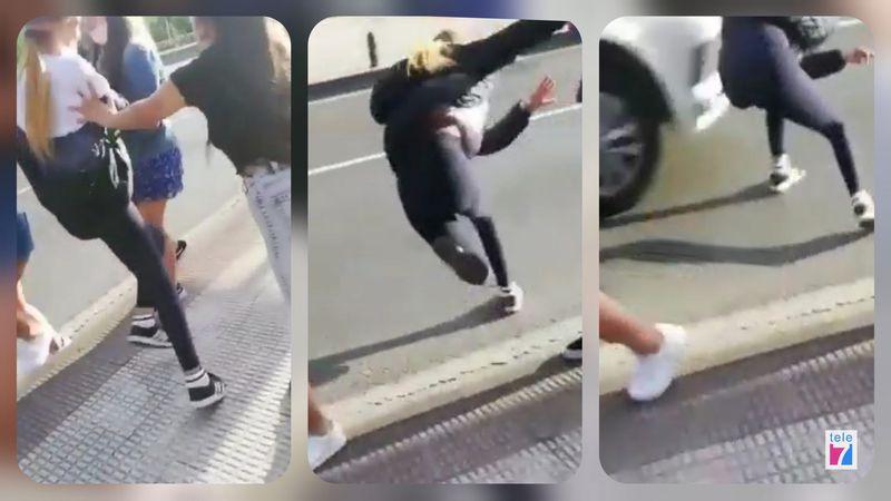 """Empuja a tu amiga"", el reto viral que casi terminó en tragedia en el País Vasco"