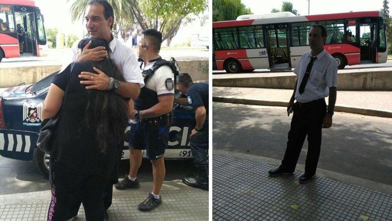 Un chofer mendocino defendió a una chica que era golpeada por un hombre arriba del micro