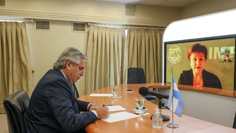 Deuda con el FMI: Fernández y Georgieva dieron luz verde al tramo final de las negociaciones