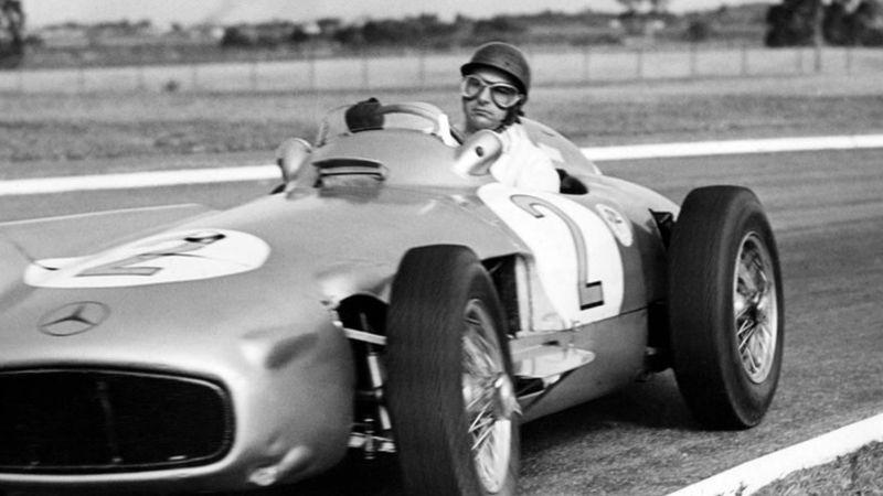 Fangio desde el punto de vista de grandes campeones