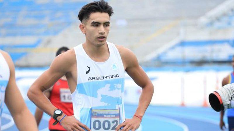 Campeonato Sudamericano de atletismo: el mendocino Pinti logró récord argentino y se convirtió en la revelación   + Deportes
