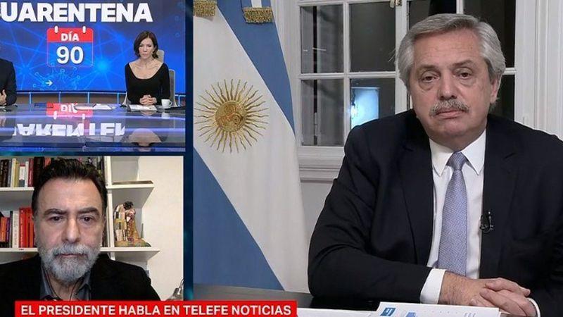 """Alberto Fernández admitió que se podría """"volver atrás si aumentan los contagios y las camas ocupadas"""""""