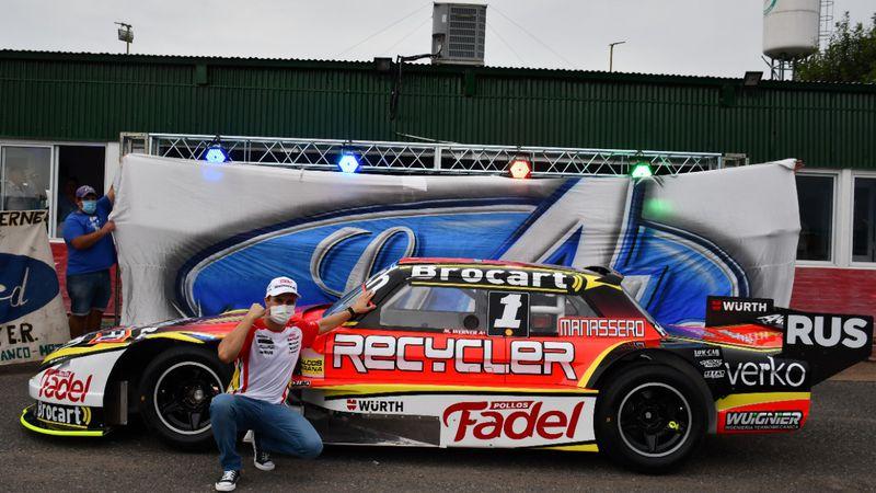 Mariano Werner presentó el Ford campeón