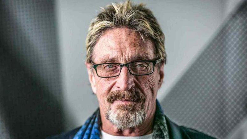 Encuentran muerto en una cárcel española a John McAfee, creador del antivirus con su nombre