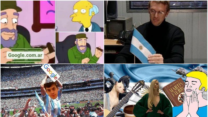 """Los hilarantes memes por el tuitero argentino que se """"adueñó"""" del sitio web de Google"""