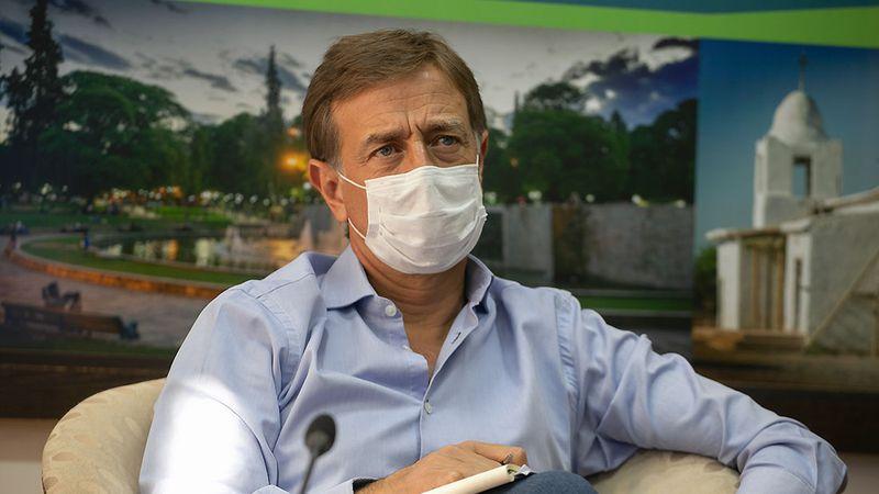 Suárez espera el DNU de Fernández para tomar nuevas medidas