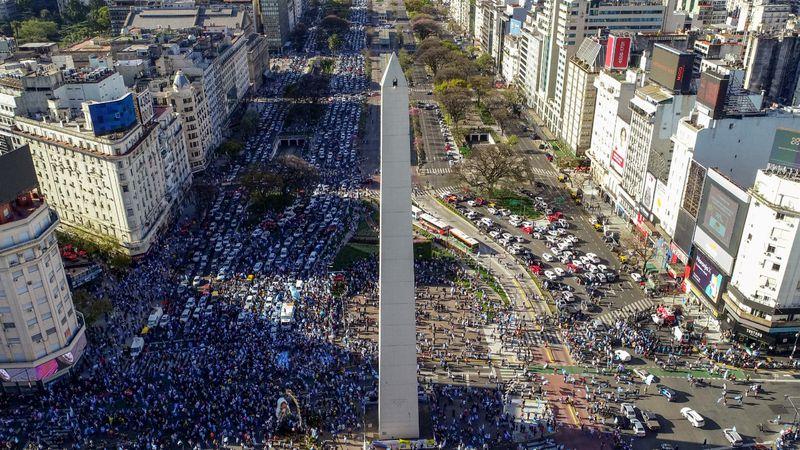 Banderazo 12O: miles de argentinos se manifestaron en todo el país
