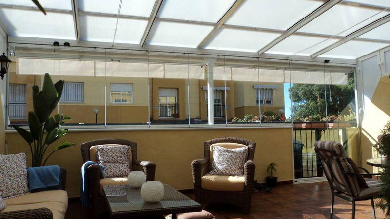Techos transparentes: admirá el cielo desde tu terraza