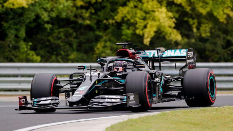 Fórmula 1: Hamilton marcó la pole en Hungría