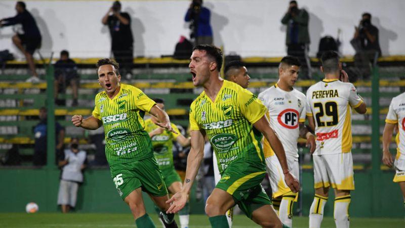 Defensa y Justicia hizo historia: goleó a Coquimbo Unidos y se metió en la final de la Copa Sudamericana