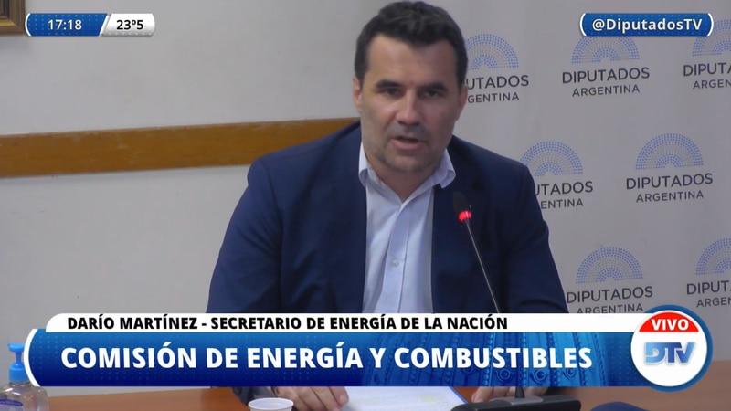 En vivo: el secretario de Energía expone en Diputados sobre la ley de biocombustibles
