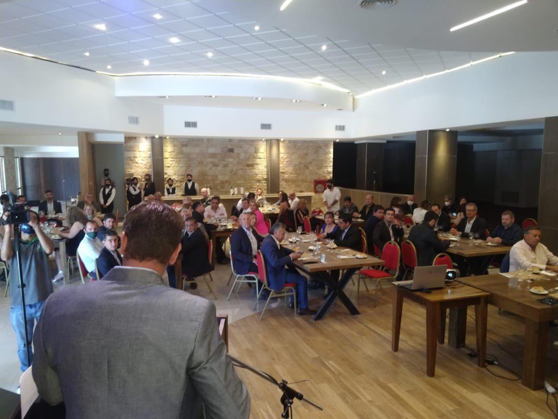 La Cámara de Comercio organizó el almuerzo de las fuerzas vivas por el aniversario 70 de Malargüe.