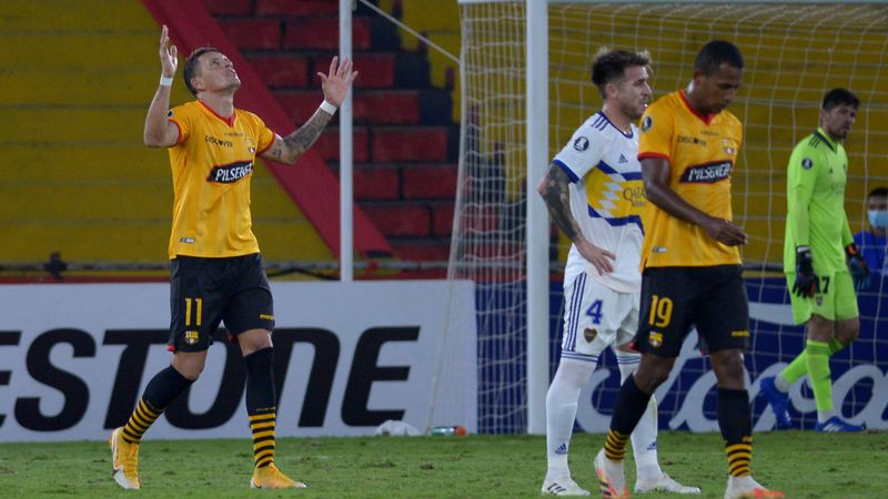 Video: Boca cayó ante Barcelona de Ecuador por primera vez y perdió la punta de su grupo en la Libertadores