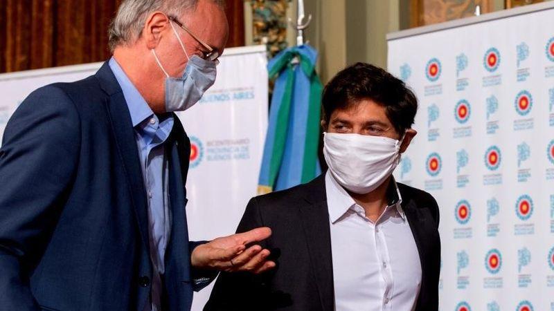 Kicillof pide más restricciones en Buenos Aires y no descarta suspender las clases presenciales