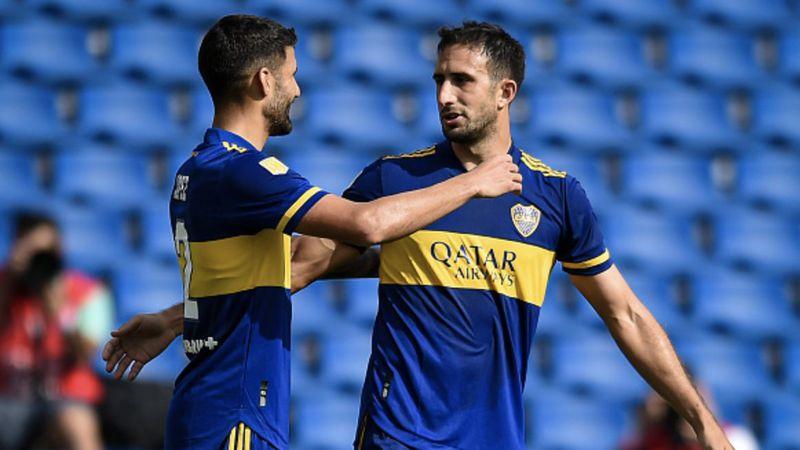 Con el gol de Izquierdoz, Boca le ganó a Lanús y clasificó a cuartos de final de la Copa de la Liga Profesional